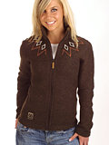 66 Degrees North Kaldi Sweater Women's (Dark Espresso)