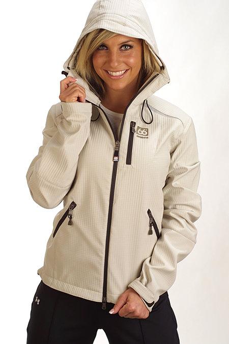 66 Degrees North Reykjavik Softshell Jacket Women's (Light Gray)