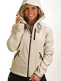 66 Degrees North Reykjavik Softshell Jacket Women's (Light Gray)