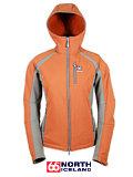 66 Degrees North Glymur Softshell Jacket Women's (Burnt Sienna / Olive)