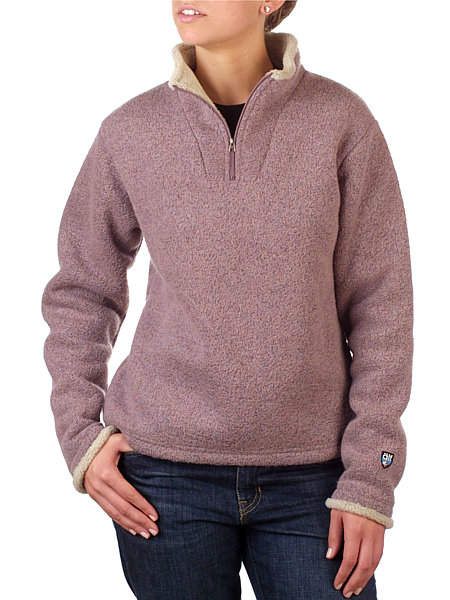 Alfwear Ingrid 1/4 Zip Sweater Women's (Rose)