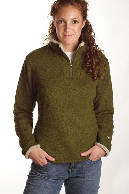 Kuhl Ingrid 1/4 Zip Sweater Women's (Spinach)