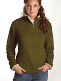 Kuhl Ingrid 1/4 Zip Sweater Women's (Spinach)