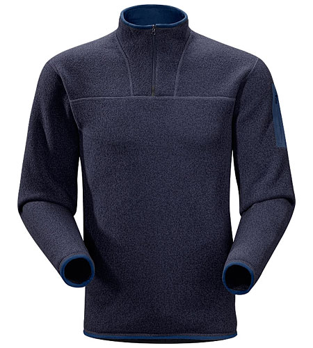 Arc'Teryx Covert Zip Neck Men's (Abbys Blue)