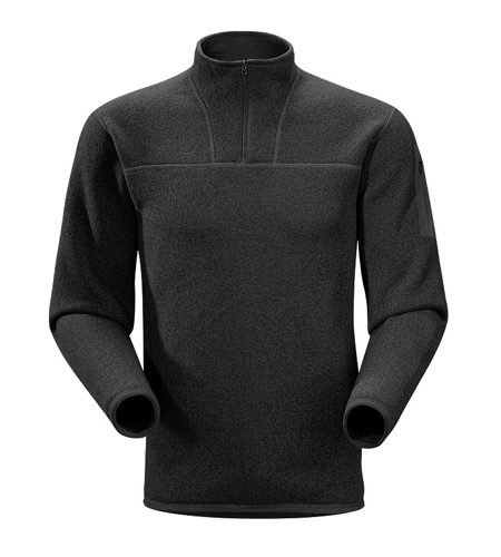 Arc'Teryx Covert Zip Neck Men's (Black)