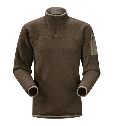 Arc'Teryx Covert Zip Neck Men's (Woodsmoke)