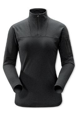 Arc'Teryx Rho LT Zip Baselayer Women's (Black)