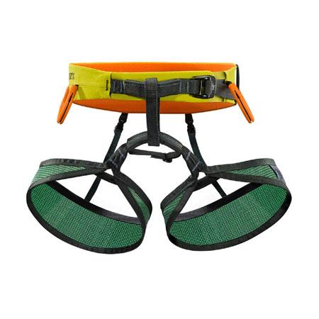 Arc'Teryx S220 LT Lightweight Climbing Harness (Chartreuse)
