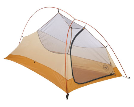Big Agnes Fly Creek UL1 One Person Tent (Cool Gray / Gold)