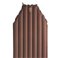 Big Agnes Insulated Air Core Mummy Sleeping Pad (Brown / Black)
