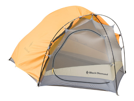 Black Diamond Mirage Two Person Tent (Marigold / Gray)