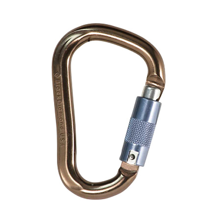 Black Diamond Rocklock Locking Carabiner (Twist Lock)