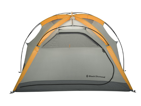 Black Diamond Stormtrack Four Person Tent (Marigold / Gray)