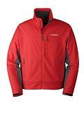 Cloudveil New Inertia Peak Jacket Men's (Patrol Red / Dark Shadow)