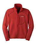 Cloudveil Run Don't Walk 1/2 Zip Sweater Men's (Patrol Red)