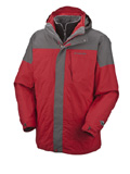 Columbia Bugaboo Parka Men's (Intense Red / Charcoal)