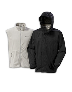 Columbia Lightrain Relief Parka Men's (Breen / Black)