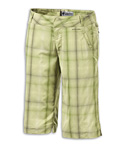Columbia Loretta Plaid Short Women's (Ash Green)