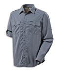 Columbia Omni-Dry Silver Ridge II Long Sleeve Shirt Men's (Metal)