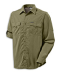 Columbia Omni-Dry Silver Ridge II Long Sleeve Shirt Men's (Savory)