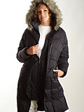 Columbia Sportswear Alpen Explorer Long Down Jacket Women's (Black)