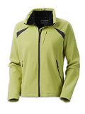 Columbia Sportswear Cache Creek Soft Shell Women's (Kiwi / Graphite)