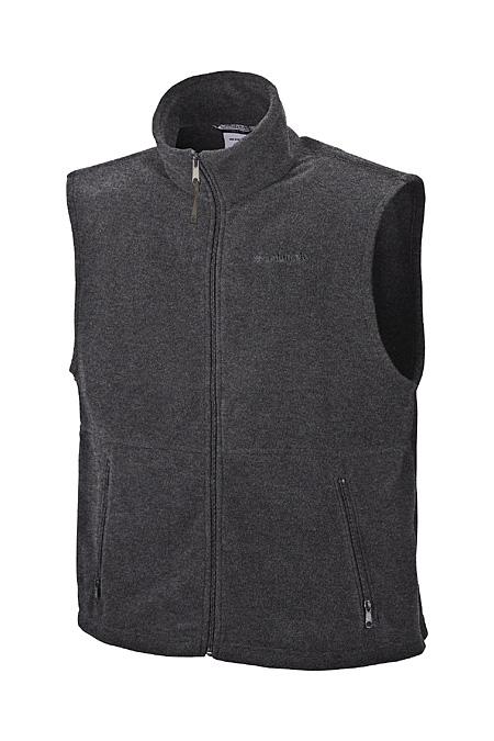 Columbia Sportswear Cathedral Peak Vest Men's (Charcoal Heather)