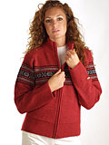 Columbia Sportswear Crescent Mountain Full Zip Women's (Barn Red)
