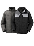 Columbia Whirlibird Parka Past Men's (Black / Grey Ice / Cast)
