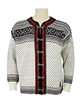 Dale of Norway Setesdal Cardigan (Off-white / Black)