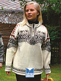 Dale of Norway 125th Anniversary Sweater (Cream)
