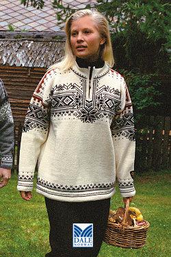 Dale of Norway 125th Anniversary Sweater (Cream)