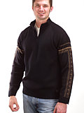 Dale of Norway Aktiven Sweater Men's (Black / Cioccolat)