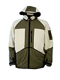 Dale of Norway Amli Knitshell Jacket Men's (Forest Green / Off-white)