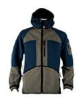Dale of Norway Amli Knitshell Jacket Men's (Storm Blue / Forest Green)