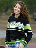 Dale of Norway Are Merino Wool Sweater Women's (Black)