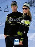 Dale of Norway Are Merino Wool Sweater Men's (Black / Senf)
