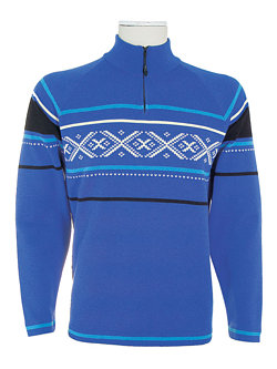 Dale of Norway Are Merino Wool Sweater Men's (Cool Blue / Laguna)