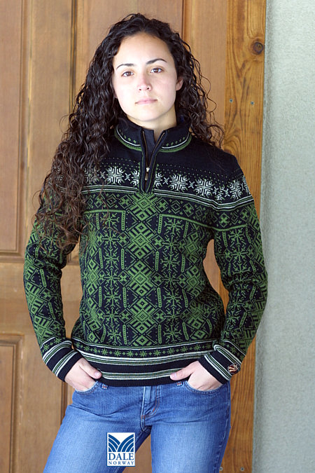 Dale of Norway Aspen Sweater Women's (Black / Shallow Pond)