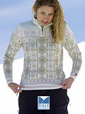 Dale of Norway US Ski Team 2007 Sweater Women's (Off-white / Dusk Pink)