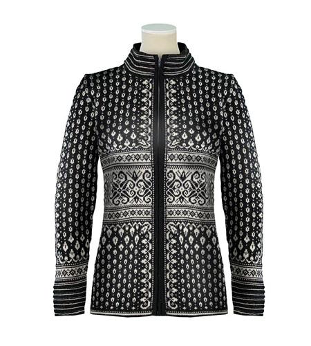 Dale of Norway Bessbu Wool Sweater Women's (Black / Off-white)