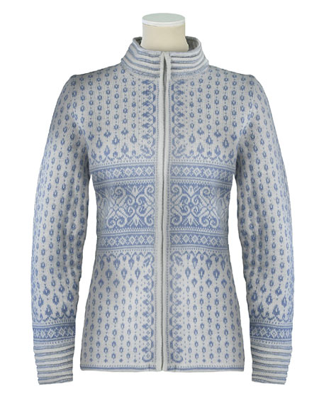 Dale of Norway Bessbu Wool Sweater Women's (Off-white / Ice Blue