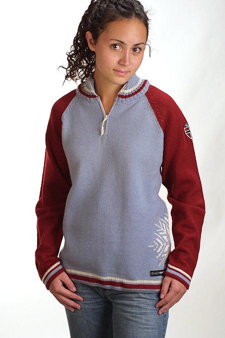 Dale of Norway Biathlon Sweater (Ice Blue)