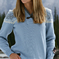 Dale of Norway Bislett Olympic Sweater Women\'s (Ice Blue / Smoke