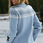 Dale of Norway Bislett Olympic Sweater Women's (Ice Blue / Smoke