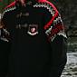 Dale of Norway Bislett Olympic Sweater Men\'s (Black / Raspberry)