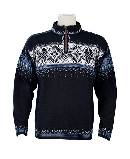 Dale Of Norway Blyfjell Sweater Men's (Midnight Navy / China Blu