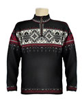 Dale of Norway Blyfjell Sweater Men's (Black / Vino Tino / Cream)