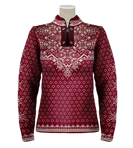 Dale of Norway Bogstad Sweater Women's (Vino Tinto / Natural)