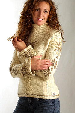 Dale of Norway Celebration Sweater Women's (Taupe)